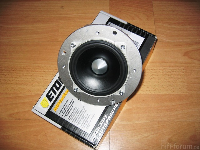 RS100 BMW Aufnahme