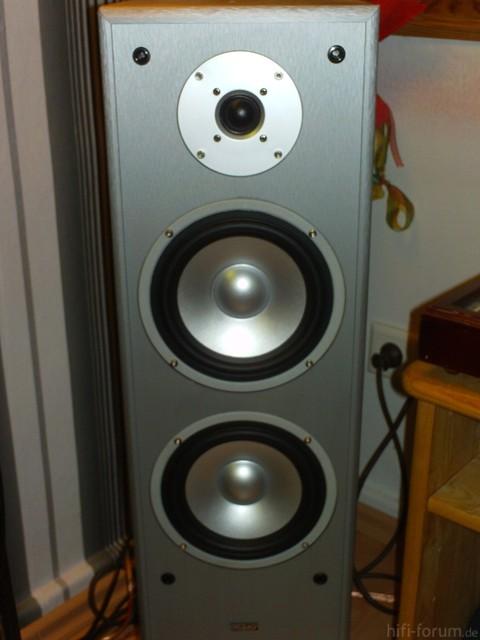 Die Lautsprecher Ohne Frontbespannung