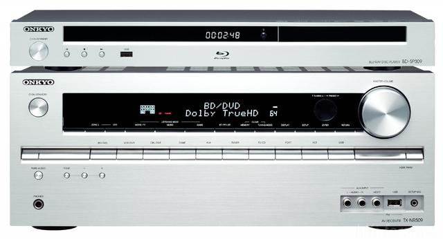 Montage Onkyo BD-SP 309 Silber & TX-SR 509 Silber