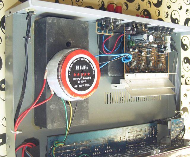 5 Kanal Stereo Karaoke Verstärker DragonAudio DA-29