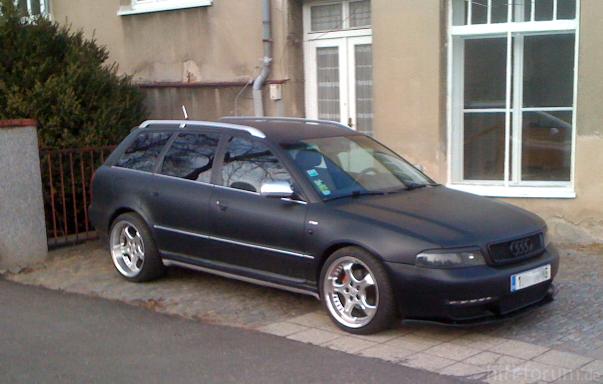 Mein Audi A4 B5 E Voila`