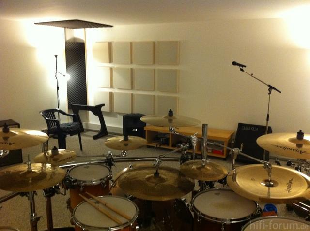Foto 002 Schlagzeugraum