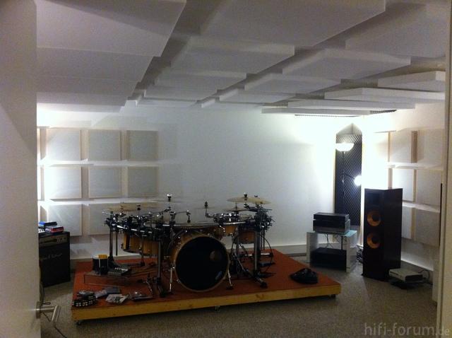 Schlagzeugraum Neu 2