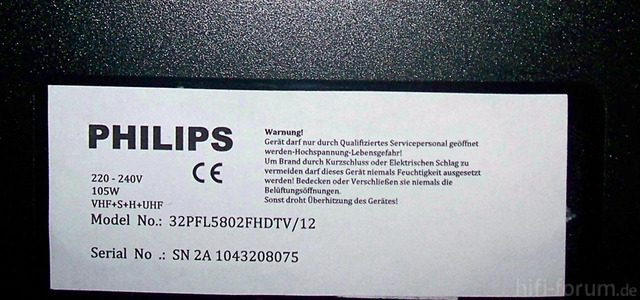Philips Unbekannt