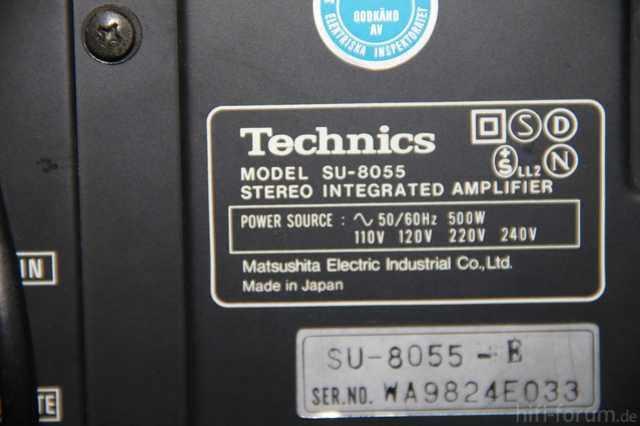 Technics SU 8055 - 006