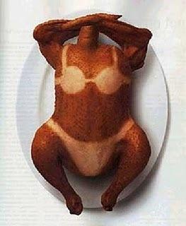 Sonnenbrand Huhn
