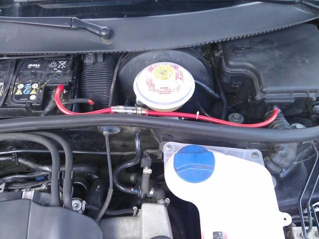 Verkabelung Motorraum