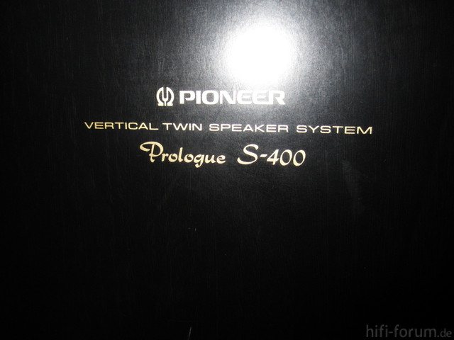 Pioneer Prolugue S-400