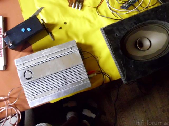 Mini-Verstärker Anschluss1