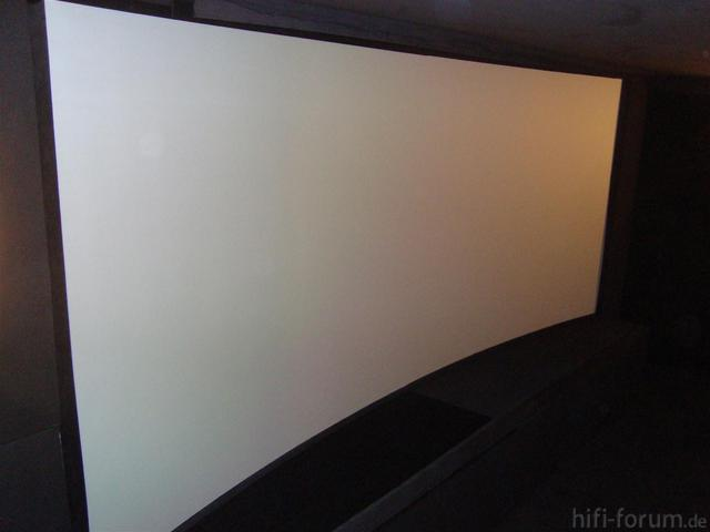 Curved Screen Mit 7% Krümmung