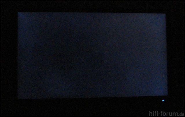 Clouding  Toshiba ZL 1 Hintergrundbeleuchtung Aus