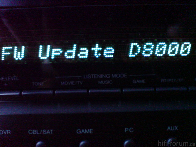 TX-SR608 Firmware Update Phase 2