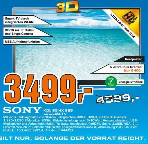 KDL-65HX925