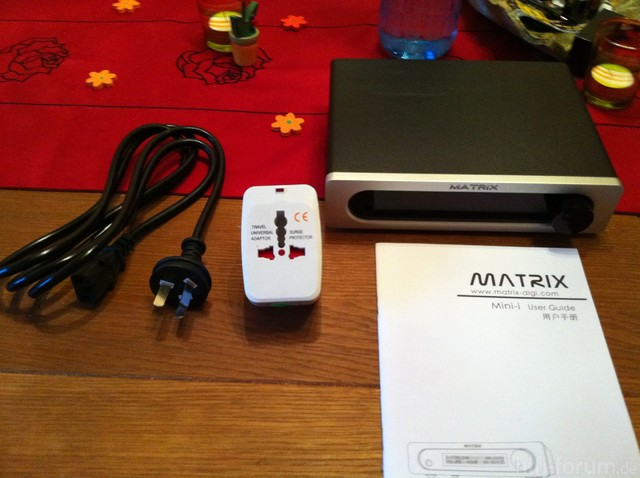 Matrix Mini-I DAC