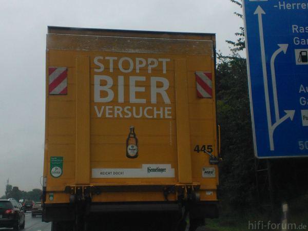 Bierversuche