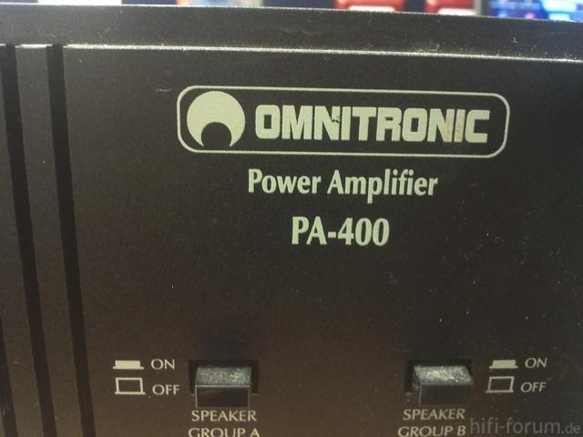 Omnitronic PA-400