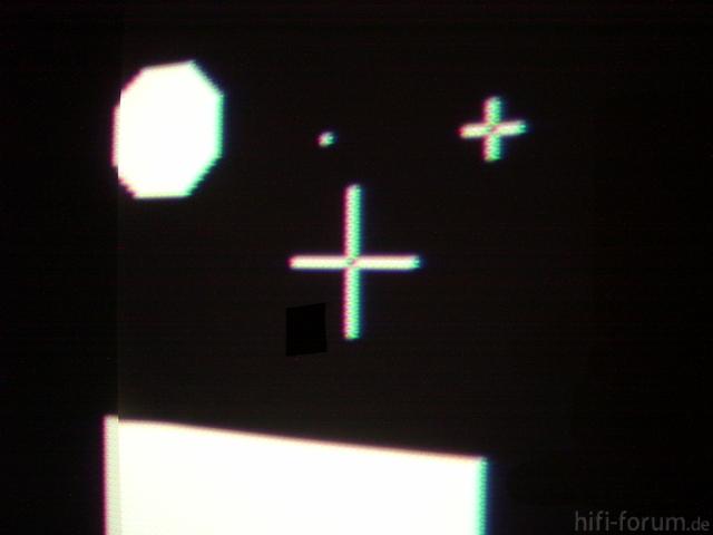Abblidungsqualität Nach Der Reparatur, Fokus So Eingestellt, Dass Horizontale Und Vertikale Linien Gleich Breit Sind.