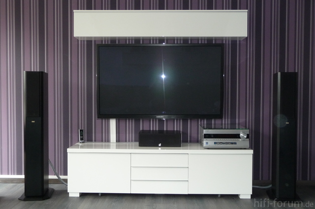 PS59D7000 Mt Ikea TV-Möbel