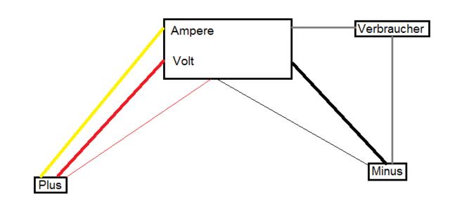 Voltmeter Amperemeter richtig anschließen, Sonstiges - HIFI-FORUM
