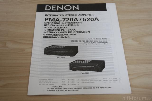 Denon PMA-720A