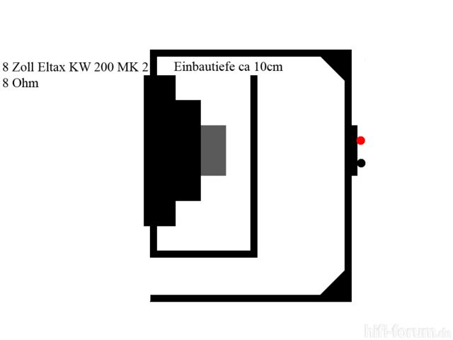 """8"""" Würfelbox"""