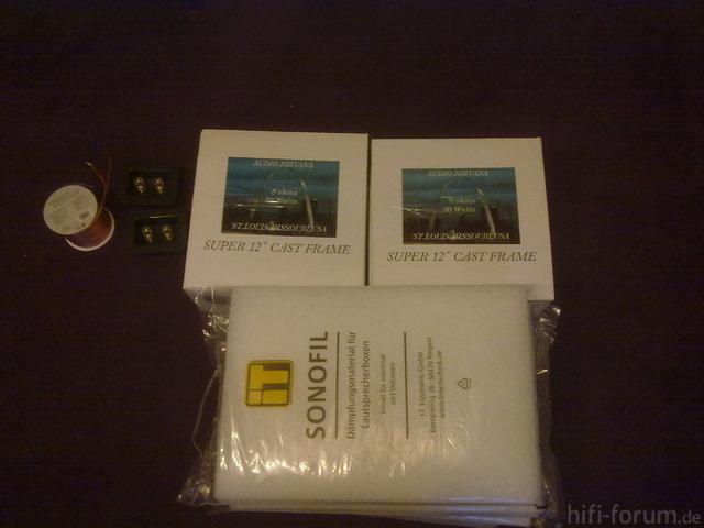 Audio Nirvana Super 12 CF Boxed