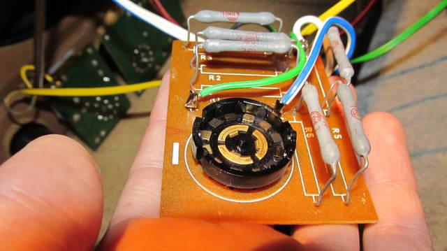 Dual CL 730 Potis und Frequenzweichen