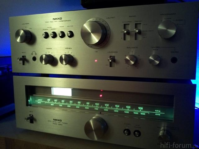Nikko TRM 750 + FAM 650
