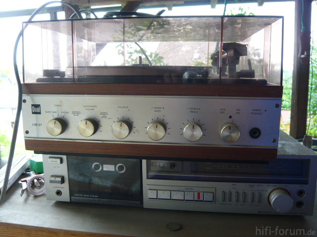 Dual HS 37 Und Ein Tape Sony TC FX 33