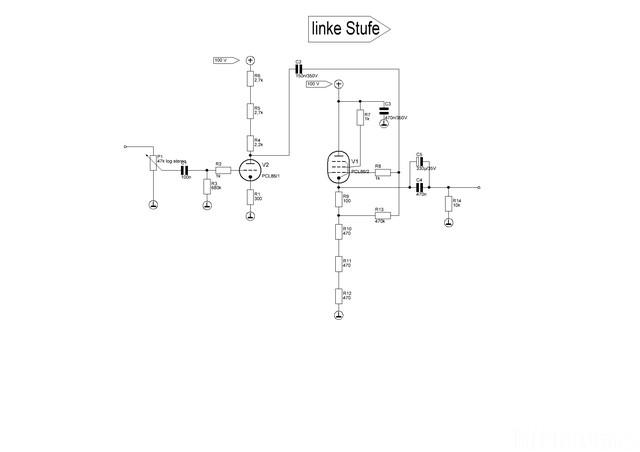 Kopfhöhrerverstärker PCL 86 2