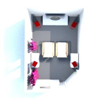 Zimmer Entwurf 1