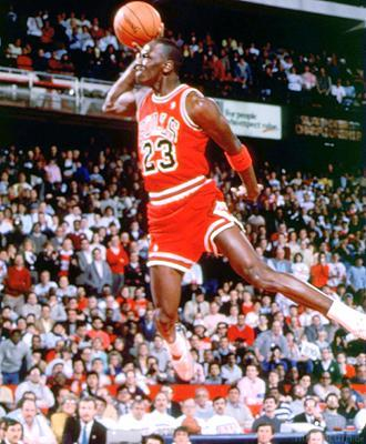Michael Jordan Slam Dunk 881