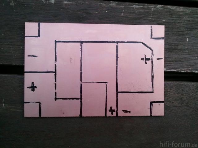 Schaf Frequenzweiche Platine Design