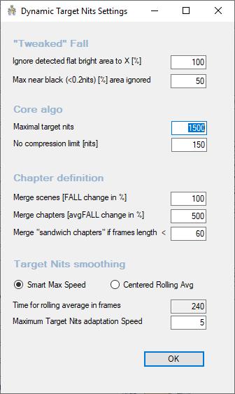 Madmeasurehdr Dynamic Optimizer Advanced Settings