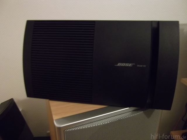 bose model 100 im bad lautsprecher hifi forum. Black Bedroom Furniture Sets. Home Design Ideas