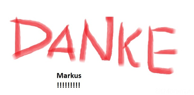 Danke, Markus
