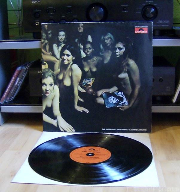 Hendrix Electric Ladyland Vinyl LP D/1968(?)