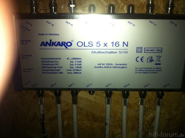 Ankaro OLS 5 X 16 N