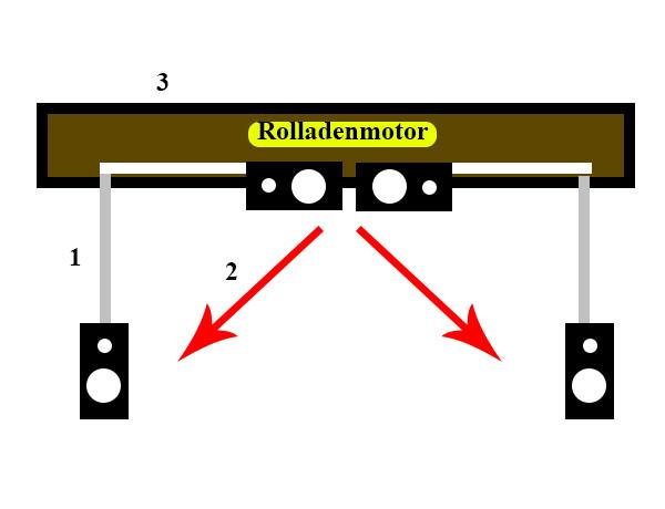 skizze lautsprecher an balken balken deckenhalterung doityourself elektronik lautsprecher. Black Bedroom Furniture Sets. Home Design Ideas