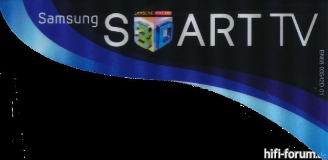 Samsung Produktaufkleber Full HD 3D
