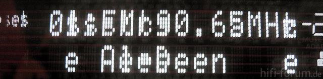 Display-Fehler beim Yamaha RX-A3010