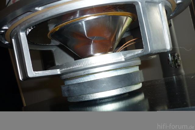 Technics SB-7 Subwoofer Kegel - Eingedrückt