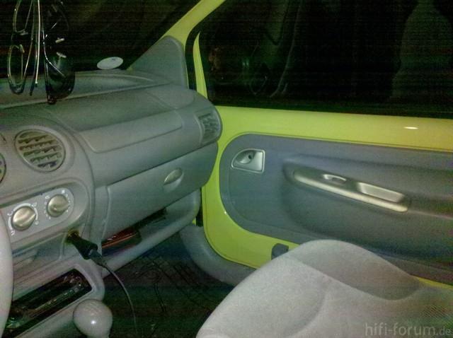 Twingo 2000 10cm Schächte / Originaltüren