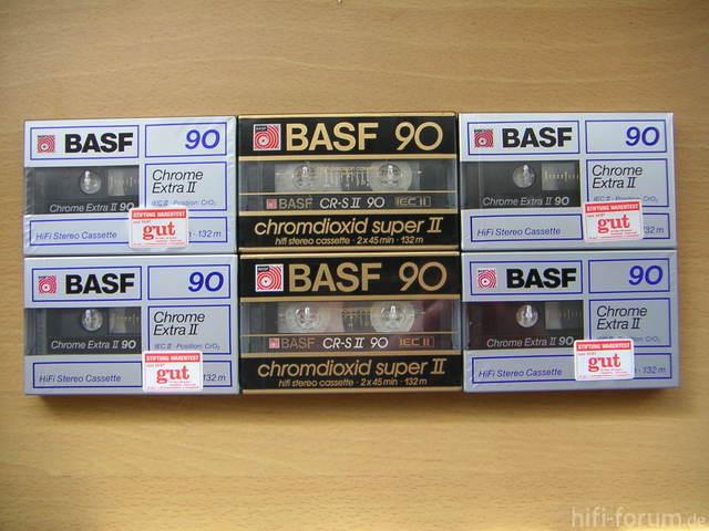 Basf Chromdioxid Super Ii Cr S Ii 90 Und Basf Chrome Extra Ii 90 110038