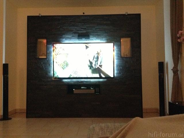 naturstein verblender wohnzimmer bilder eurer steinwnde kiesbetten racks gehuse hifi forum