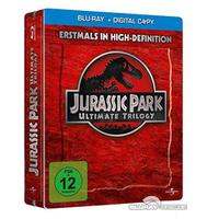 Jurassic Park Ultimate Trilogie Steelbook 118082