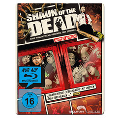Shaun Of The Dead Limited Reel Heroes Steelbook Edition