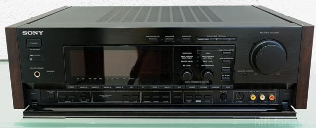 TA-E2000 ES Front