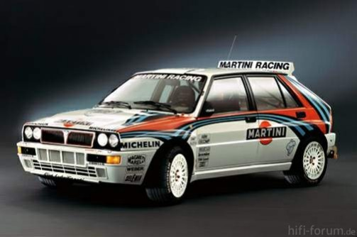 Lancia Delta Integrale Martini Racing