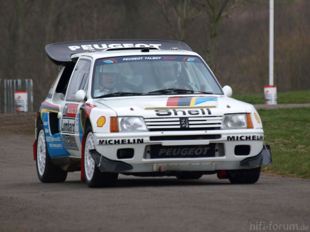 Peugeot 205 Turbo 16   Race Retro 2008 01